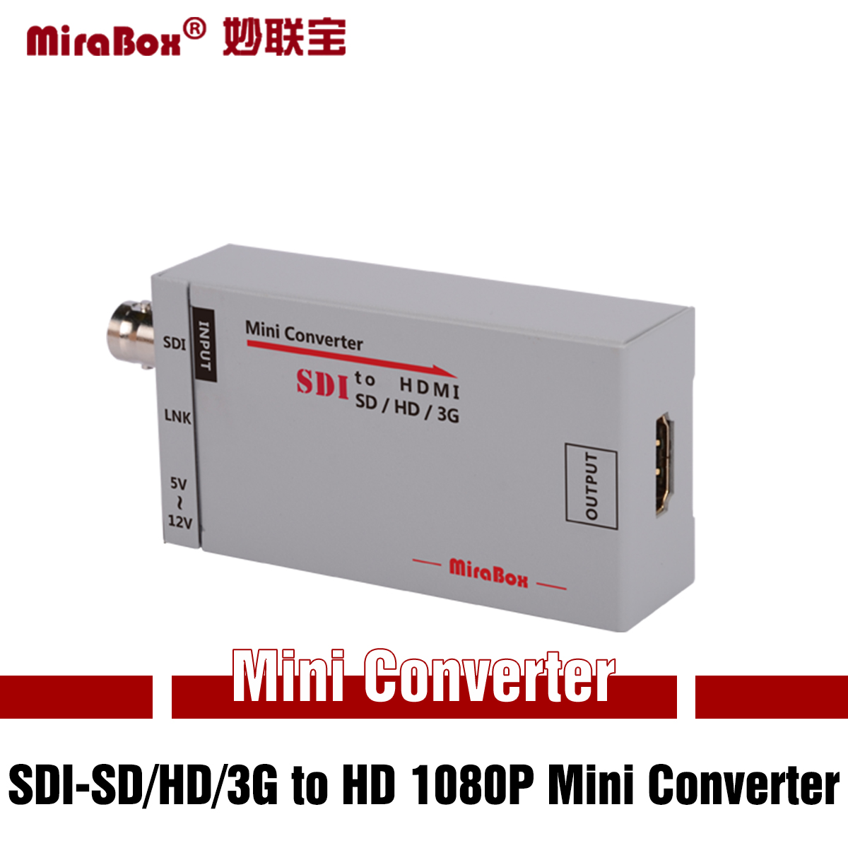HSV190  SDI-SD/HD/3G to HD 1080P Mini Converter